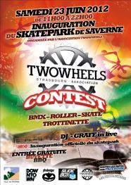 Contest TWOWHEELS, Saverne